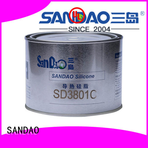 SANDAO waterproof rtv silicone rubber in-green for power module