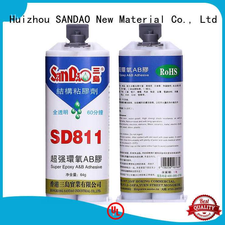 SANDAO resistant epoxy ab glue at discount for Semiconductor refrigeration