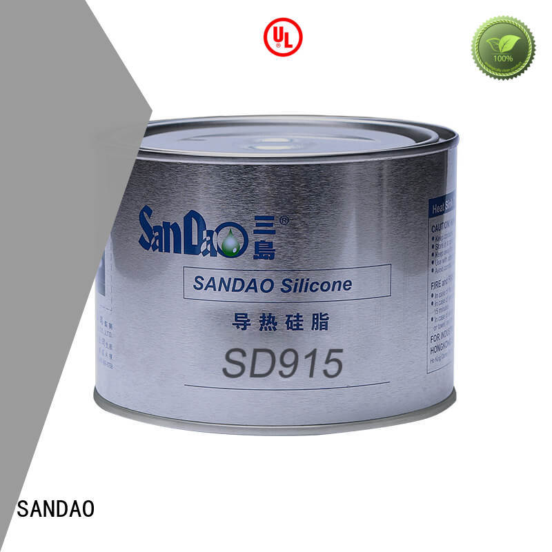 SANDAO silicone Thermal conductive material TDS vendor for coffee pot gap filling