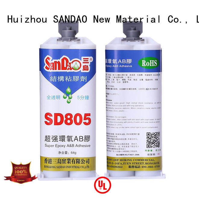 SANDAO comfortable epoxy resin bulk production for Semiconductor refrigeration