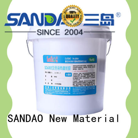 fine- quality Two-component addition-type potting adhesive TDS organic widely-use for metalparts