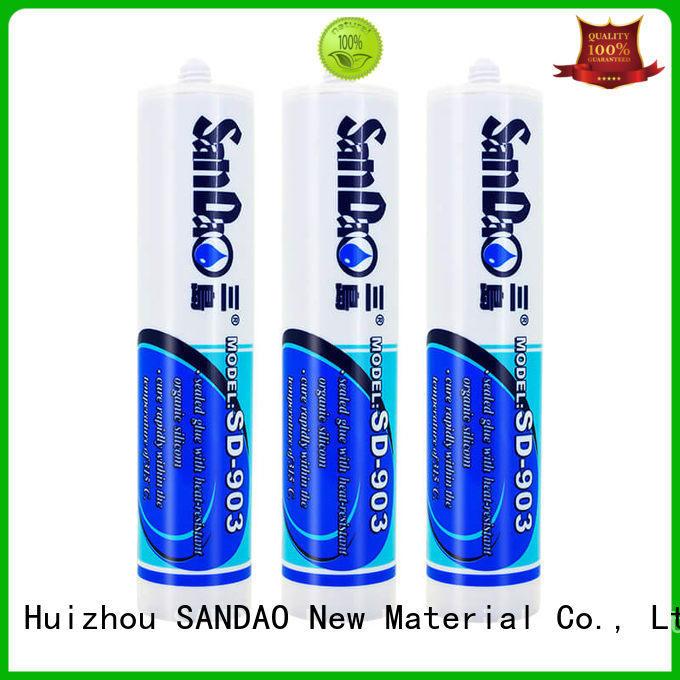 SANDAO silica rtv silicone rubber in-green for screws