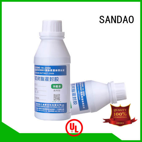 SANDAO electronic Two-component addition-type potting adhesive TDS factory for ceramic parts