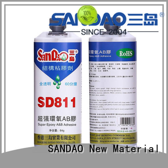 SANDAO inexpensive 2 part epoxy adhesive for heat sink