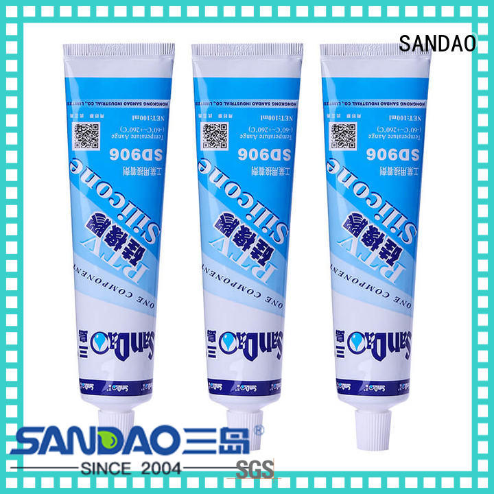 SANDAO rubber rtv silicone rubber producer for screws