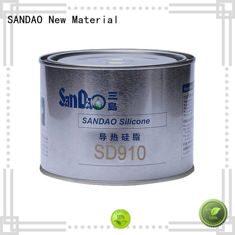 SANDAO temperature Thermal conductive material TDS from manufacturer for TV power amplifier tube