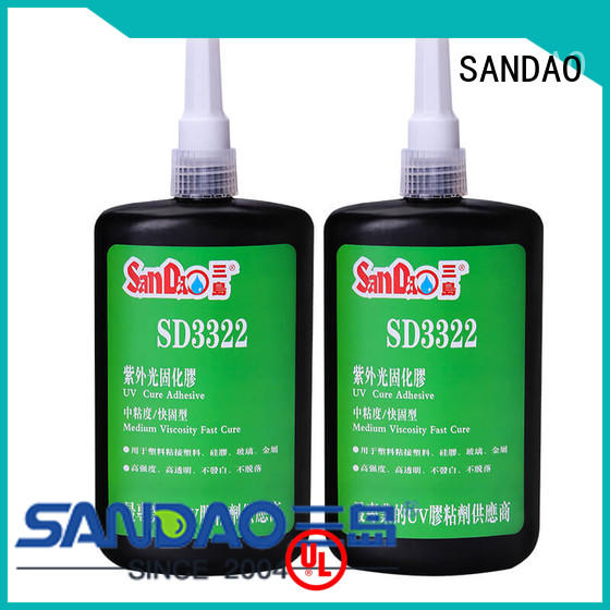 SANDAO resin uv bonding glue from manufacturer for electronic products