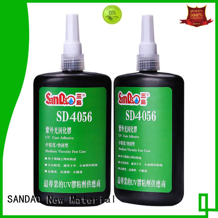 uv bonding glue metal for electrical products SANDAO