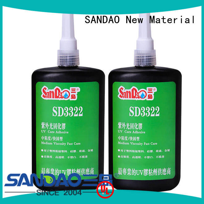 SANDAO resin uv adhesive for glass check now for screws