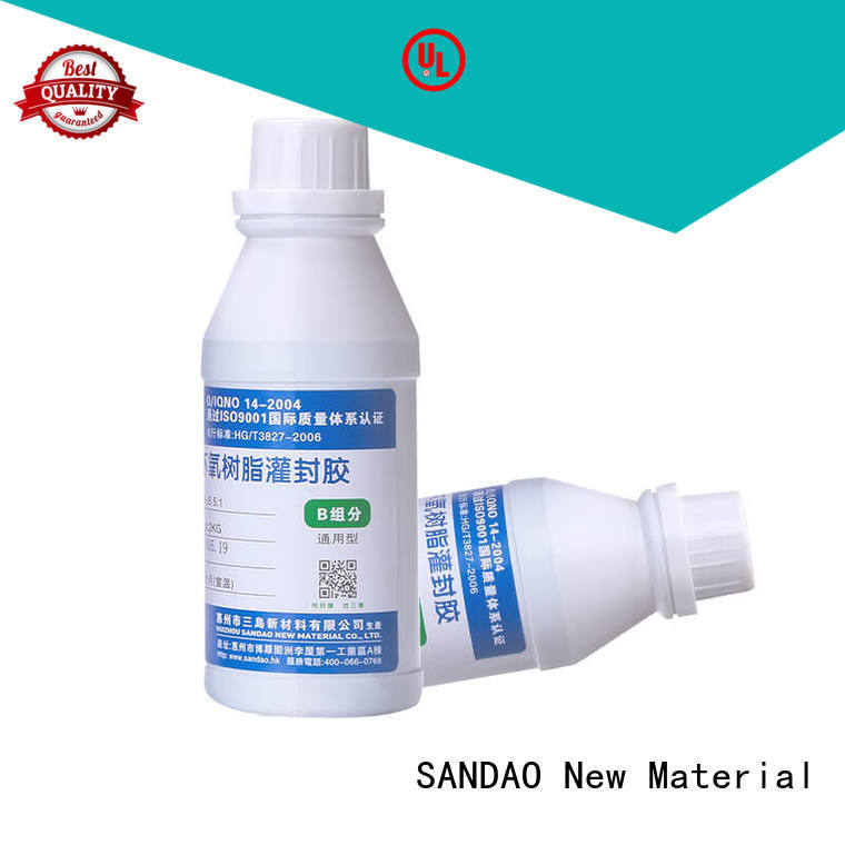 SANDAO sealant Two-component addition-type potting adhesive TDS certifications for ceramic parts