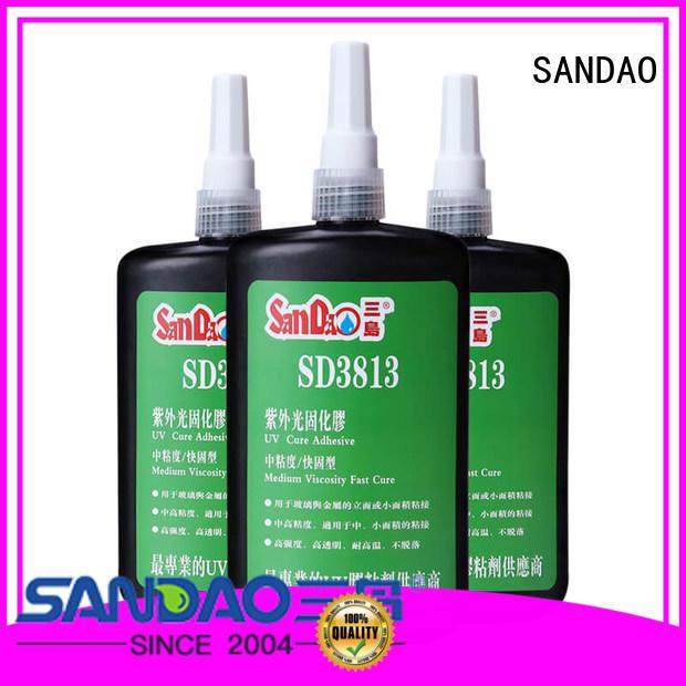 SANDAO best uv bonding glue for wholesale for electronic products