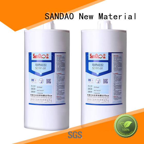 SANDAO new-arrival One-component RTV silicone rubber TDS certifications for converter