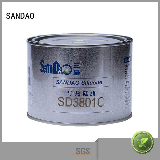 SANDAO hot-sale One-component RTV silicone rubber TDS in-green for converter