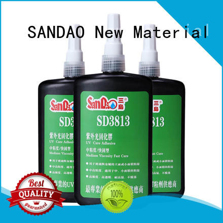 SANDAO first-rate uv bonding glue check now for fixing products