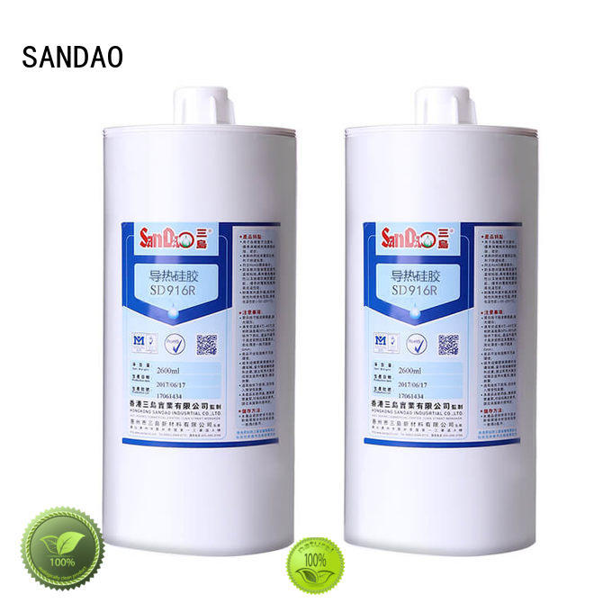 newly One-component RTV silicone rubber TDS factory for substrate