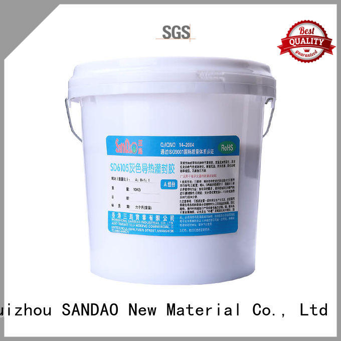 useful Two-component addition-type potting adhesive TDS epoxy supply for rubber parts