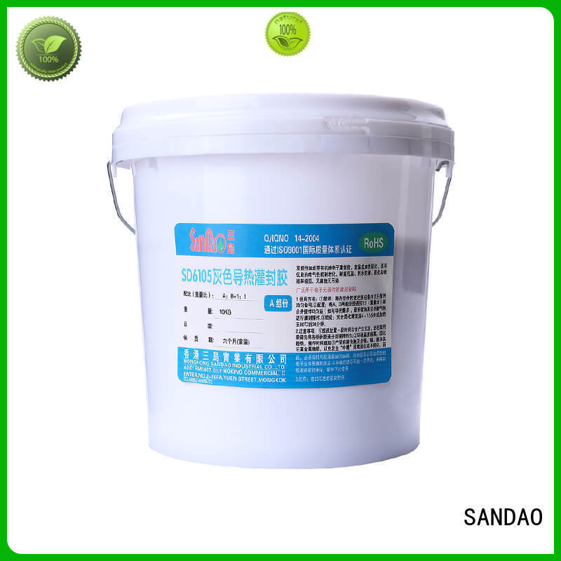 SANDAO silicon Two-component addition-type potting adhesive TDS manufacturer for ceramic parts