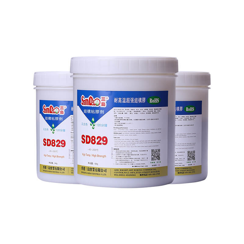 high temperature resistant epoxy resin AB adhesive SD829-1