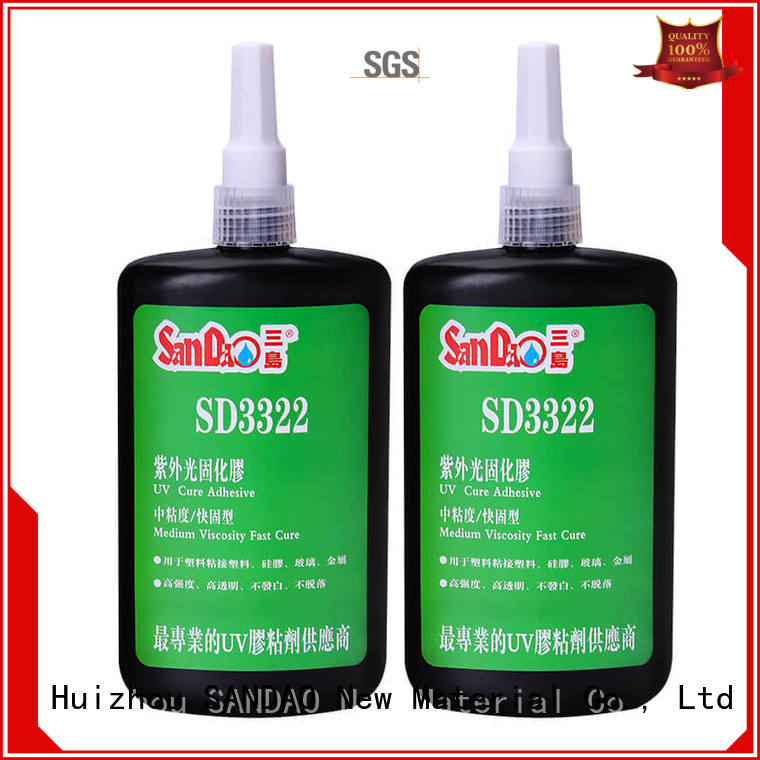 nice uv bonding glue adhesive free design for electronic products