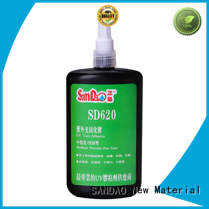 uv glue for glass building sealant SANDAO Brand company