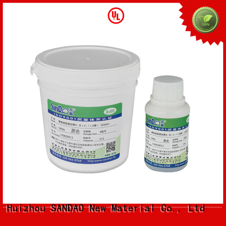 SANDAO high-quality Two-component addition-type potting adhesive TDS certifications for rubber parts