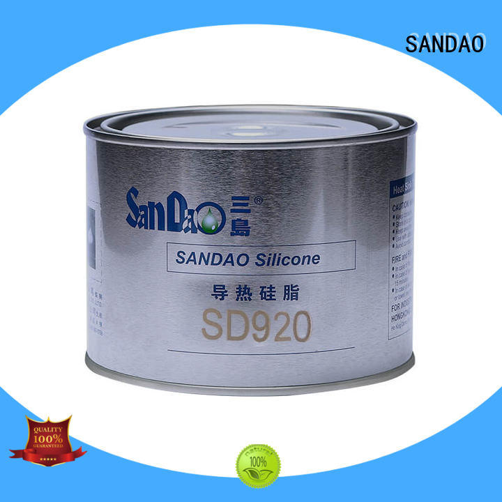 high-quality gas resistant rtv from manufacturer for Semiconductor refrigeration SANDAO