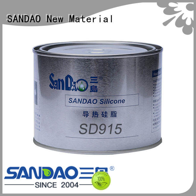 SANDAO fine- quality Thermal conductive material TDS free design for heat sink