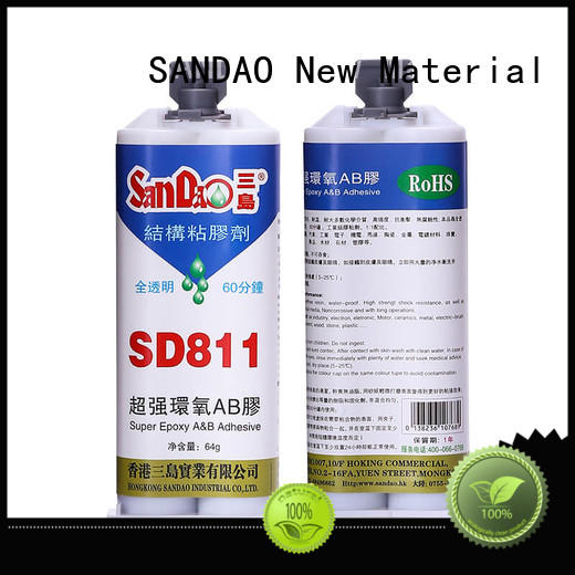 Transparent epoxy resin AB adhesive SD811