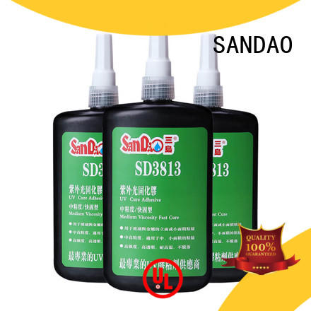 SANDAO best uv bonding glue glass for electrical products