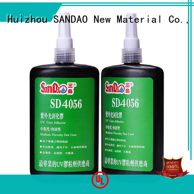 SANDAO excellent uv bonding glue from manufacturer for electrical products