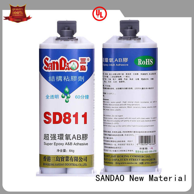 transparent epoxy adhesive for TV power amplifier tube SANDAO