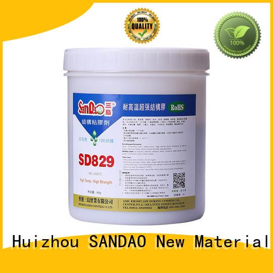 reasonable epoxy resin sealant bonding for induction cooker