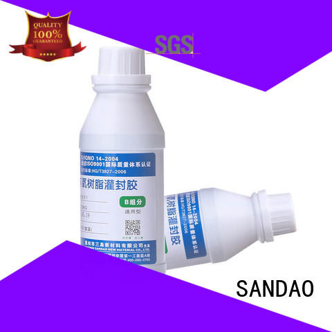 SANDAO silicon Two-component addition-type potting adhesive TDS  supply for ceramic parts