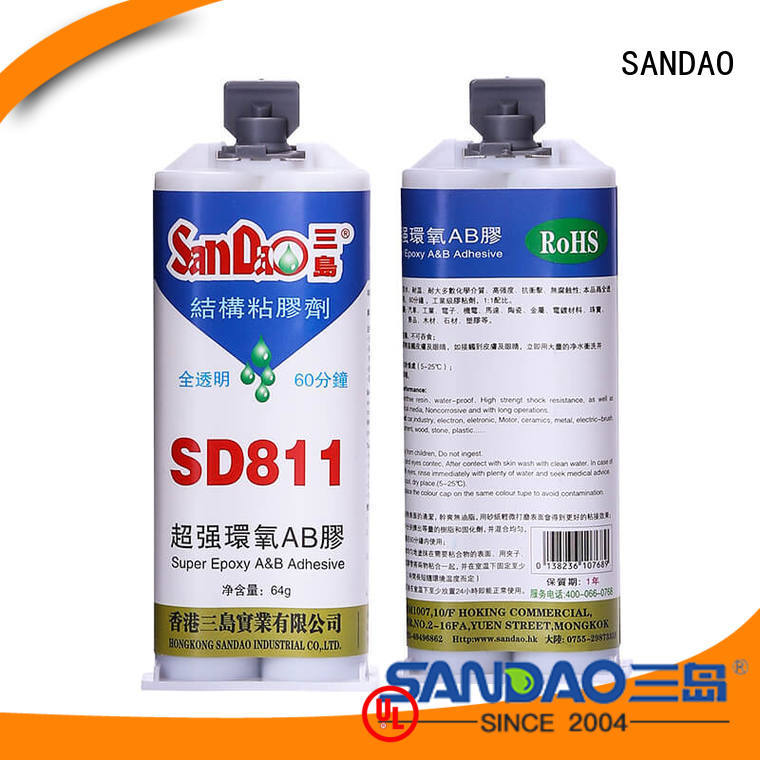 SANDAO reasonable epoxy resin sealant from manufacturer for coffee pot gap filling