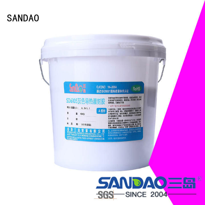 SANDAO durable Two-component addition-type potting adhesive TDS  manufacturer for electrical products