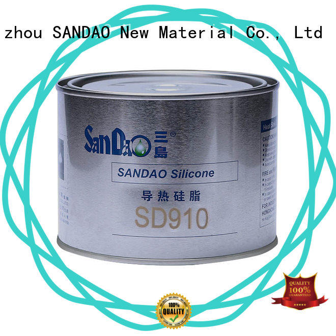 SANDAO stable gas resistant rtv conductivity for heat sink