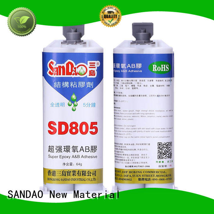 SANDAO transparent epoxy adhesive order now for TV power amplifier tube
