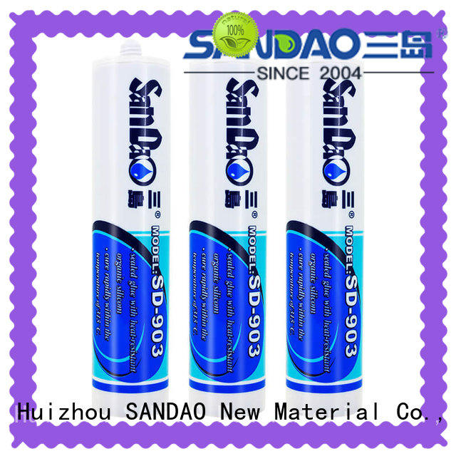 SANDAO conductive One-component RTV silicone rubber TDS wholesale for electronic products