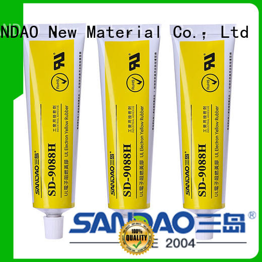 hot-sale rtv silicone rubber flameretardant widely-use for screws