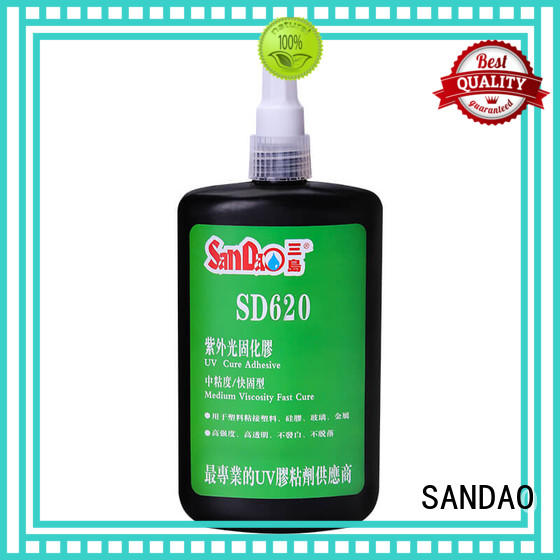 SANDAO adhesive uv bonding glue for wholesale for electronic products