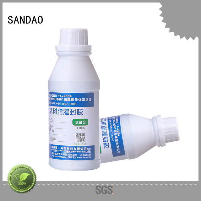 fine- quality Two-component addition-type potting adhesive TDS resin manufacturer for glass parts