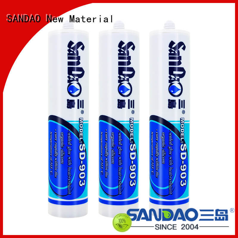 SANDAO waterproof One-component RTV silicone rubber TDS  manufacturer for screws