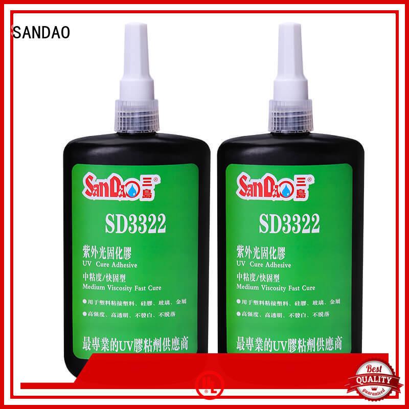 nice uv bonding glue resin bulk production for electronic products