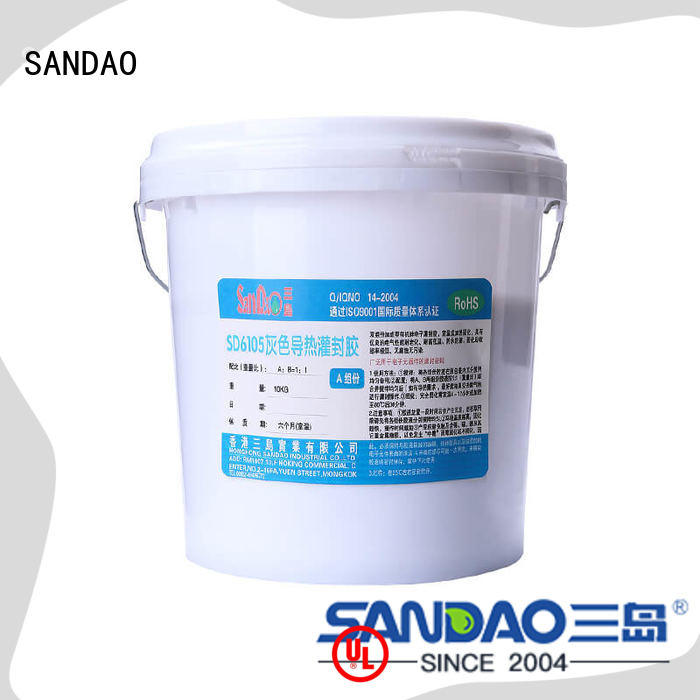SANDAO durable ge rtv silicone widely-use for ceramic parts