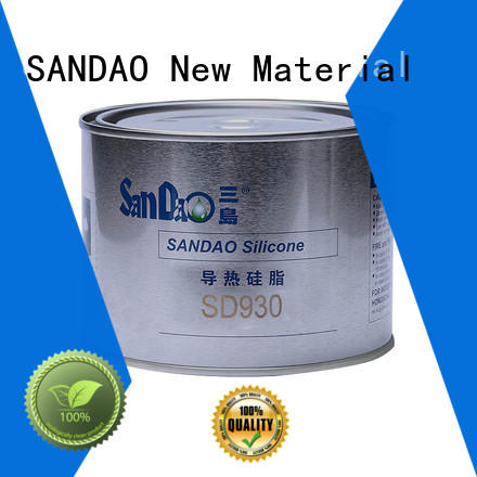 SANDAO silicone Thermal conductive material TDS bulk production for coffee pot gap filling