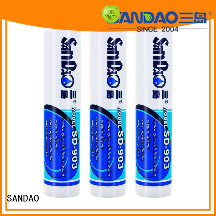SANDAO protector One-component RTV silicone rubber TDS producer for screws