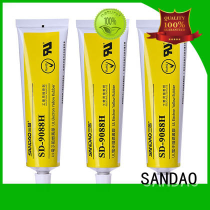 SANDAO adhesive rtv silicone rubber in-green for converter