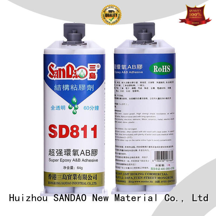 Two-component epoxy structure bonding adhesive from manufacturer for heat sink