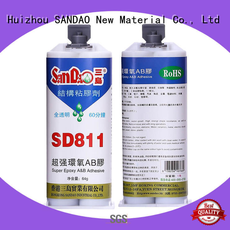 SANDAO transparent epoxy resin sealant free design for electronic products