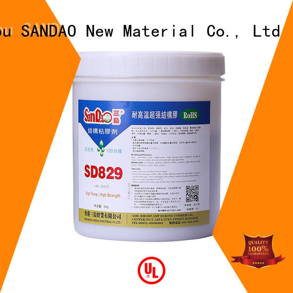 SANDAO drying epoxy adhesive bulk production for coffee pot gap filling